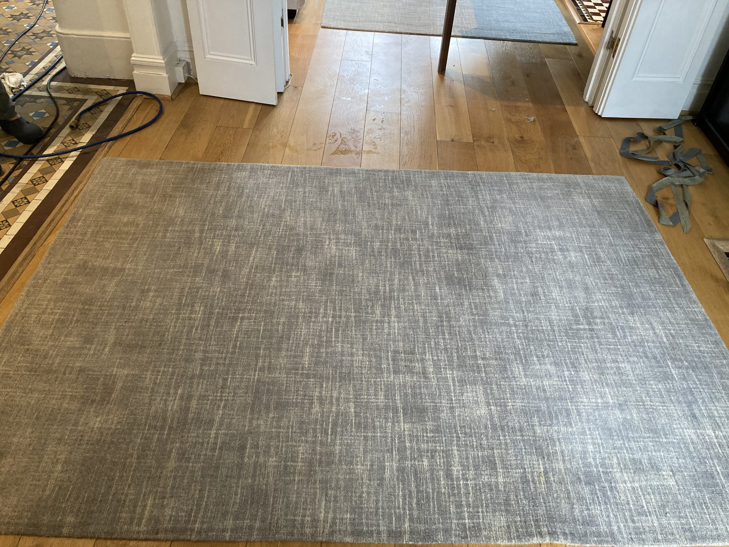 Cleaned rug
