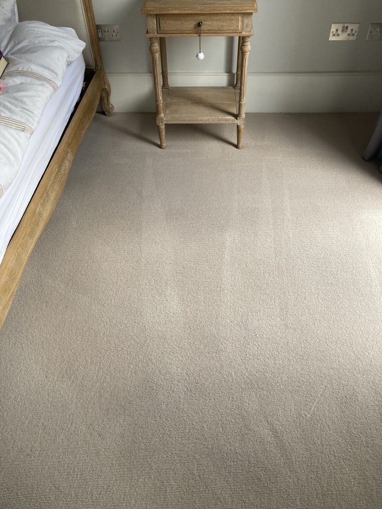 MotorOilCarpetChiswickAfterCleaning