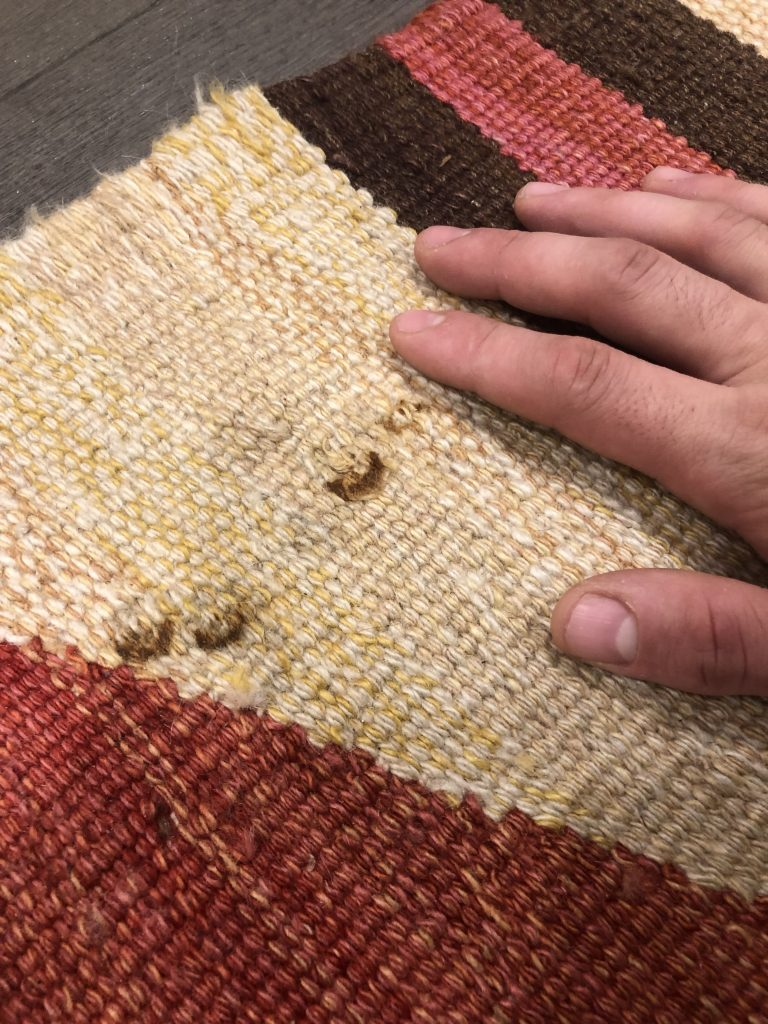 Rug Cleaning Hammersmith Rust Stain