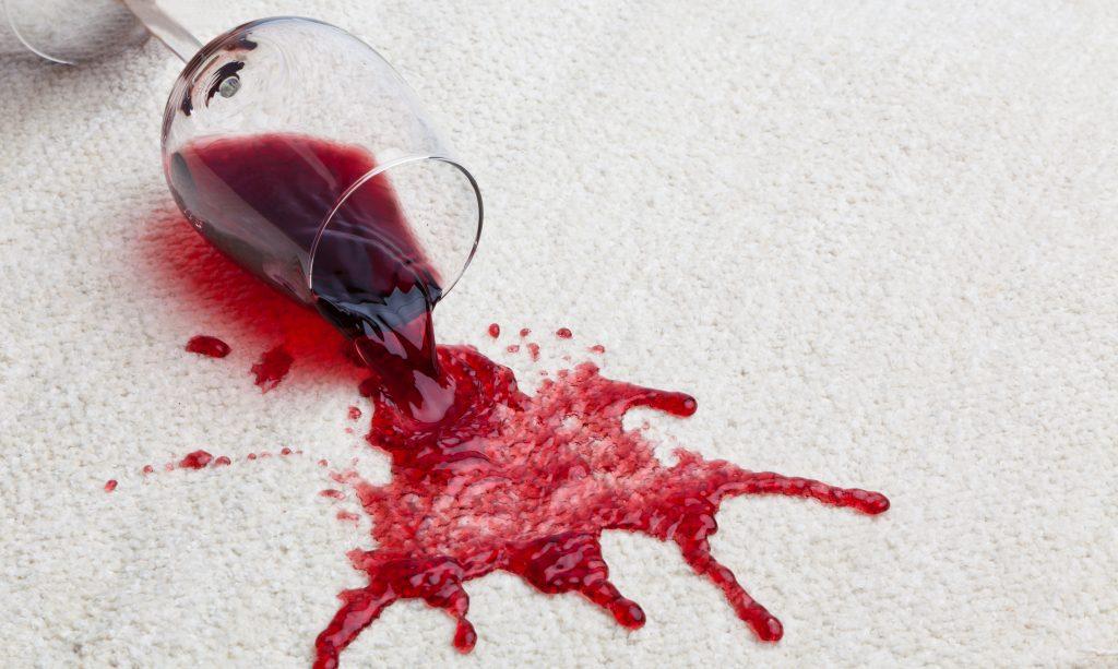 Red Wine on Carpet