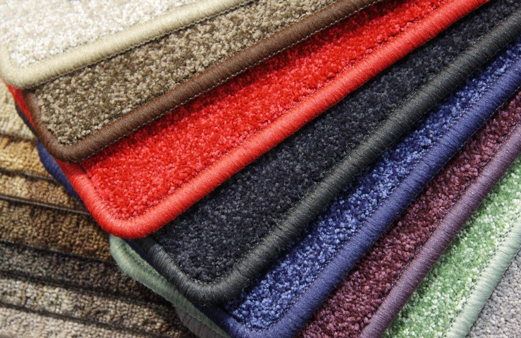 Colorful wool rugs