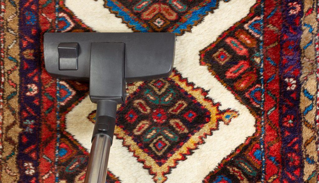 vacuum the rug