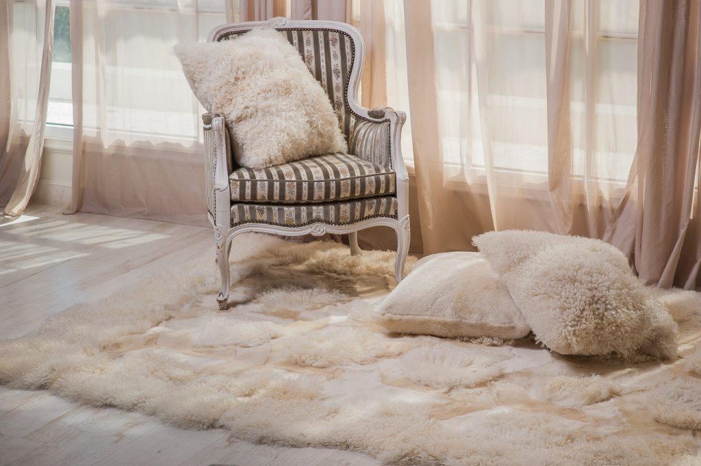 sheepskin rug cleaning